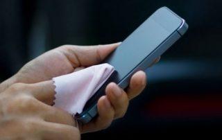 Reinigen Sie Ihr Handy